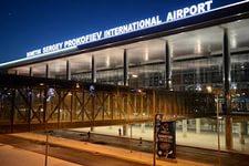 Терминал Донецкого аэропорта.